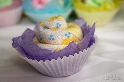 Cupcake Faces Face-cloth Cupcakes For