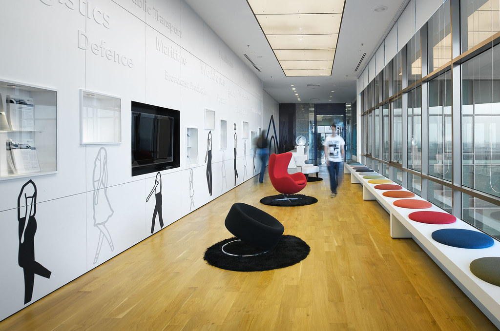 Creative Office Design By M Moser Associates M Moser: creative interior ideas