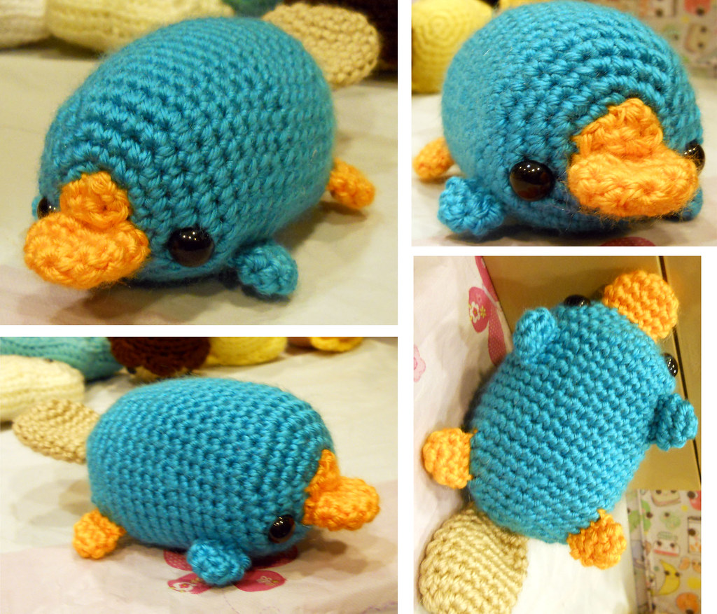 Perry The Platypus Phineas And Ferb Fan Plushie My Etsy Flickr