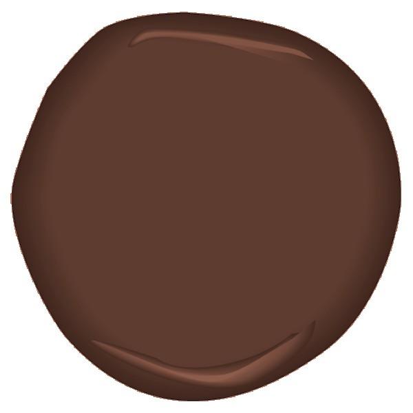 Terrazzo brown csp 360 the earthy tiles cooled her feet for Benjamin moore tea light