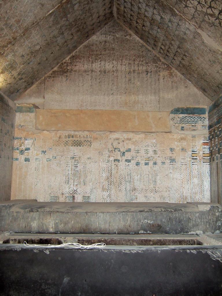 Sarcophagus Of Unas The Sarcophagus Of Unas The Three