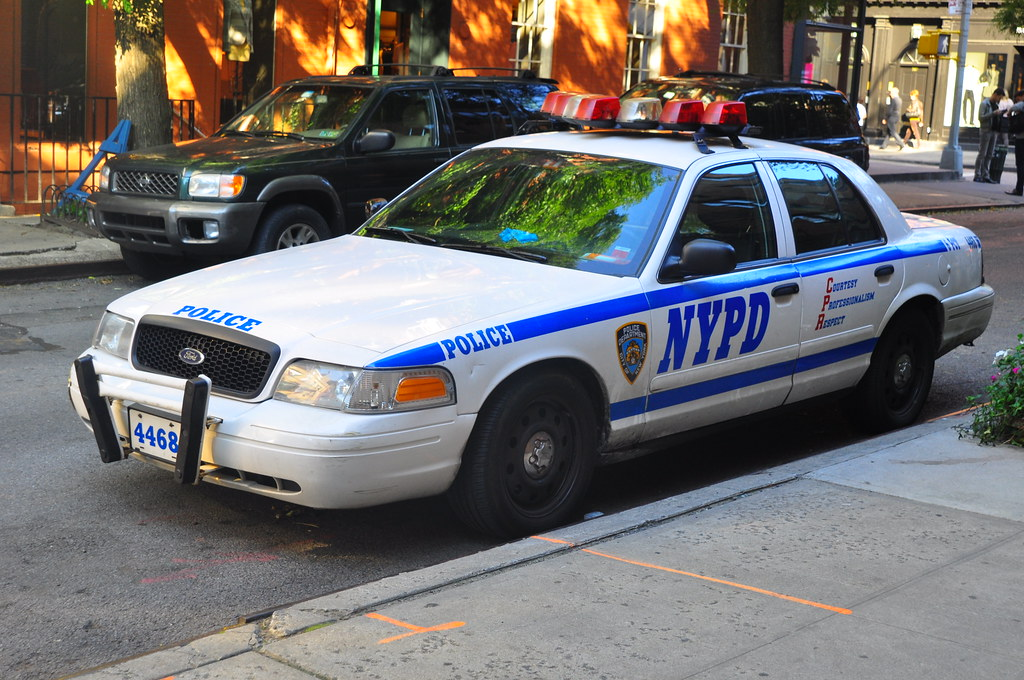Nypd Police Car Ford