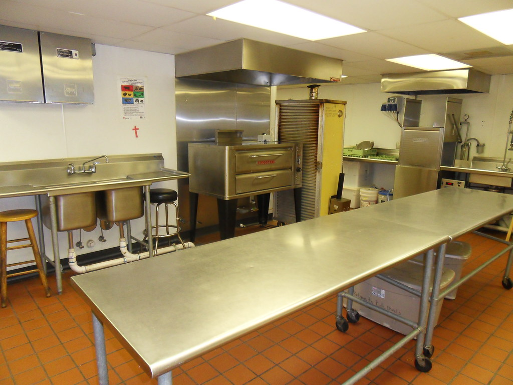 Commercial Kitchen Space Planning