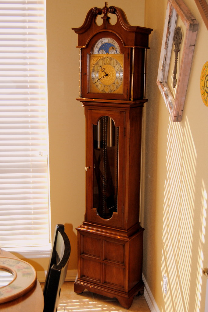 Ridgeway Grandfather Clock Setup In Our Dining Room Flickr