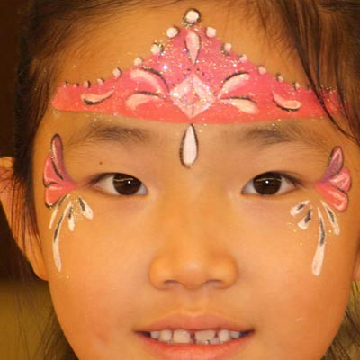 12 artistic face painting hinsdale princess birthday party for Face painting for parties