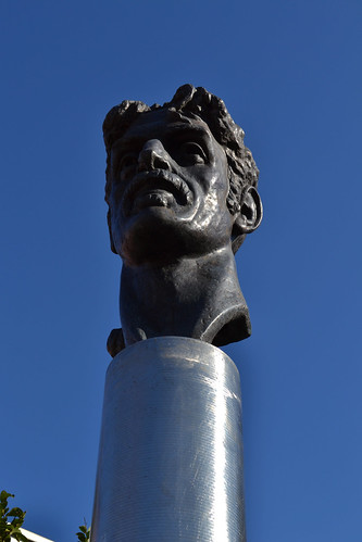 Frank Zappa Bust | by Monument City