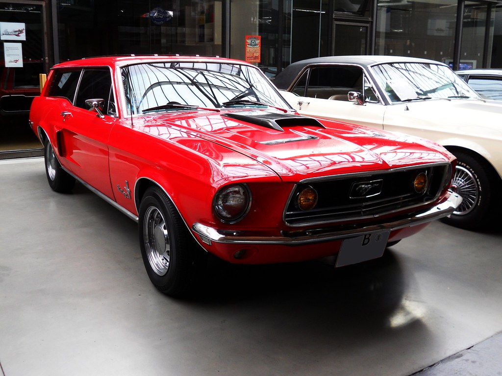 Ford Mustang GT Sport Wagon | 1968 Ford Mustang Station ...