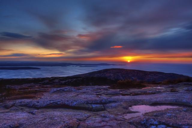 Cadillac Mountain Sunrise Explore Flickr Photo Sharing