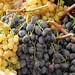 Italian grapes at market