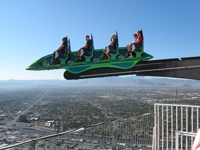 X-Scream Ride on Stratosphere Tower | Flickr - Photo Sharing!