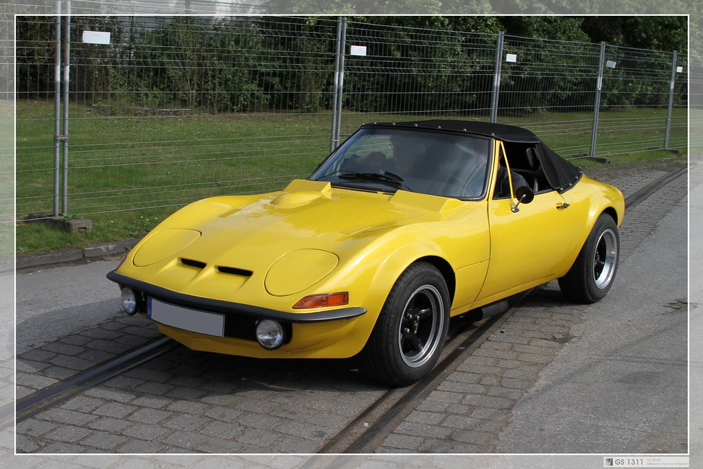 1971 1973 Opel Gt J Custom Build Roadster 01 The