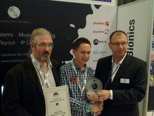 Techcon Technical Innovation Award 2011 | by NickPiggott