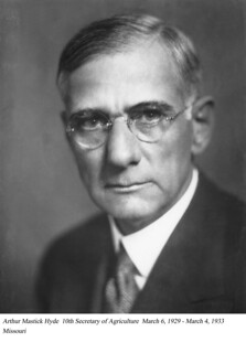 Arthur M. Hyde, 10th Secretary of Agriculture, March 1929 - March 1933. | by USDAgov