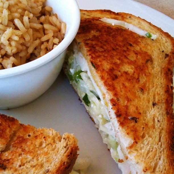 Zoes Kitchen Gruben Gruben From Zoe's Kitchenlike A Reuben But Healthier…  Flickr