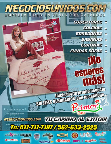 Gane mucho mas vendiendo por catalogo primor colchas usa s for Catalogo casa
