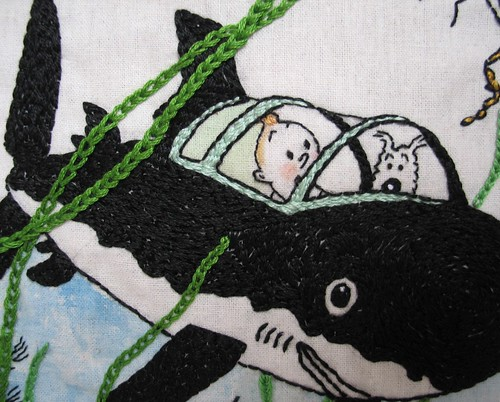 Tintin detail 2 | by wendalene