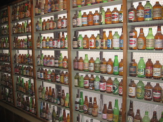 Beer Bottle Collection in Spass Haus, Wurstfest | by Like Opening Night