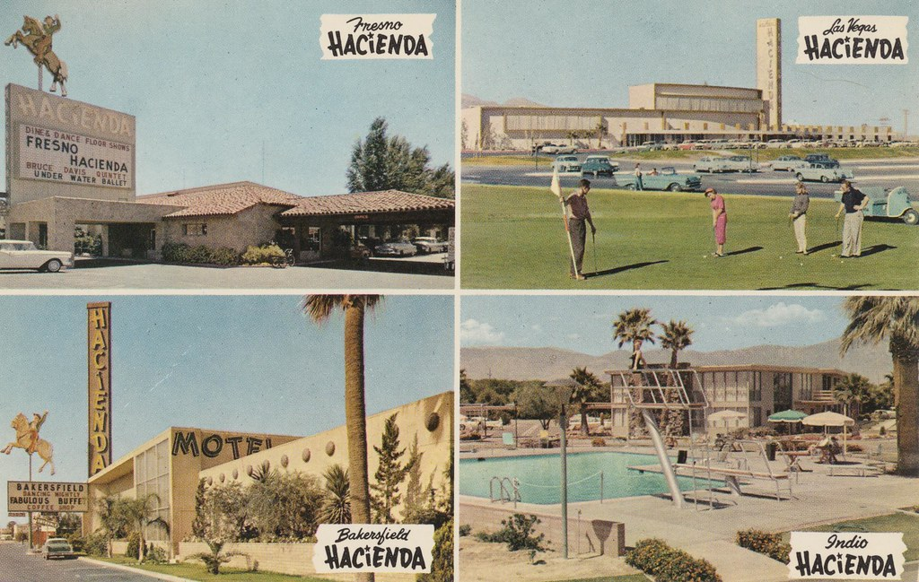 The Hacienda of Las Vegas, Nevada and Fresno, Indio & Bakersfield, California