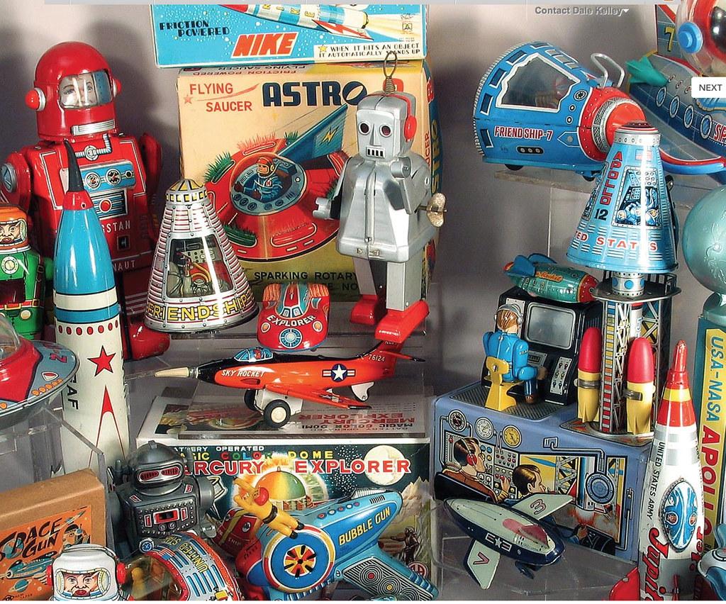 vintage space toy
