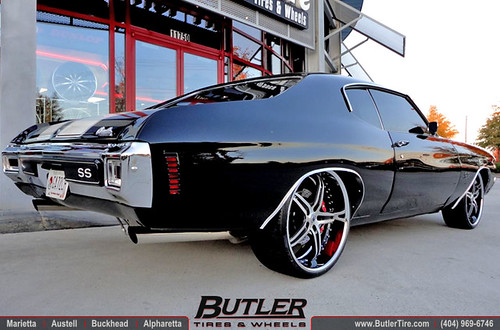 1970 chevy chevelle ss with 22in asanti af144 wheels flickr 1970 chevy chevelle ss with 22in asanti af144 wheels by butler tires and wheels sciox Choice Image