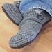 Opa House Slippers Crochet Pattern