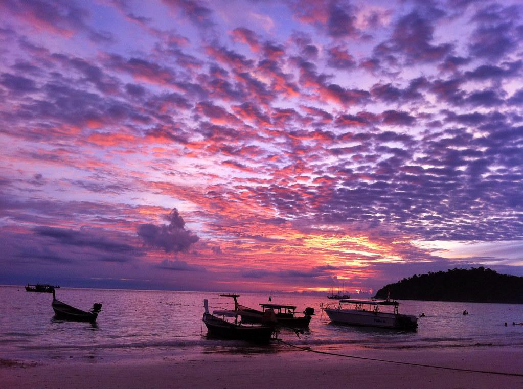 Sunset Beautiful Nature