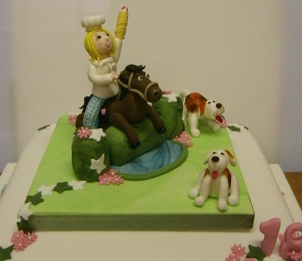 Show Jumping Horse And Hounds 18th Birthday Cake This Was Flickr