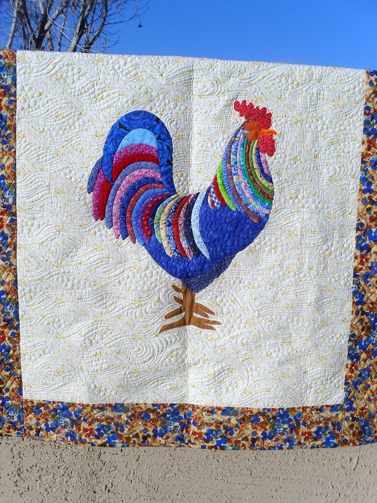 Rooster Pieced By Deborah Osborne Jessica Gamez Flickr