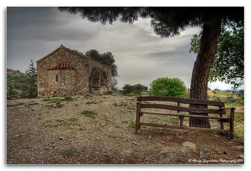 Agios Georgios Galatas Church in Agia Triada, Crete,  HDR | by MάNoS