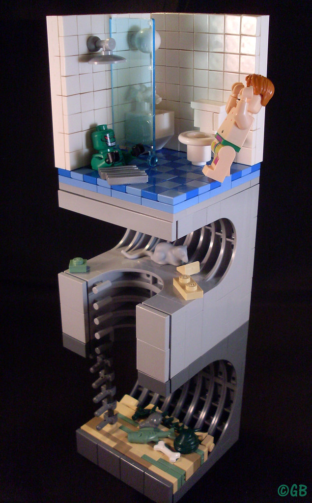 Croc s sewer my entry for the eurobricks lego batman con