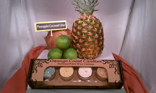 Box-Set1: Pinapple Coconut Lime | by Orange Coast Candles