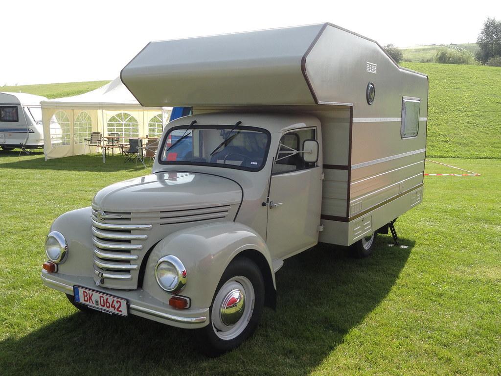 1957 1961 Barkas V 901 2 Wohnmobil 3 September 2011