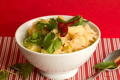 Breakfast - Upma | by Leena B.