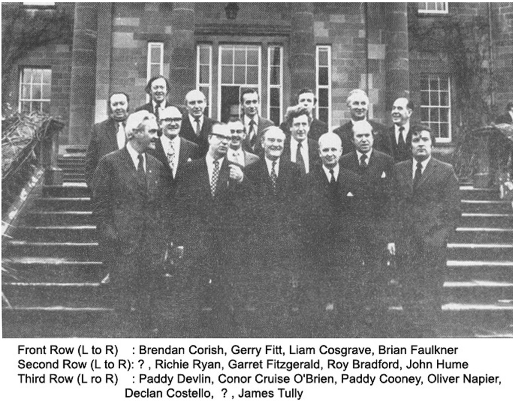 1974 Sunningdale Agreement North South Meeting The Irish Labour