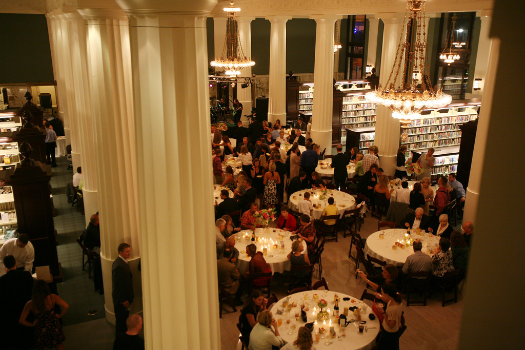Wedding At The Central Library Photo Credit Becca Spears Flickr