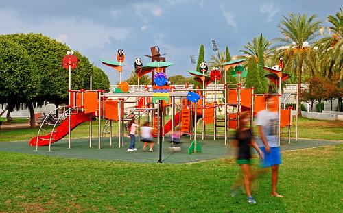 Instalaci n de parque infantil de la l nea zooparken el an flickr - Mobiliario infantil valencia ...
