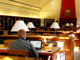 Studying in McGill Library | by wcn247