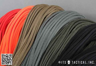 ITS 550 Paracord (Type III) Colors | by ITS Tactical