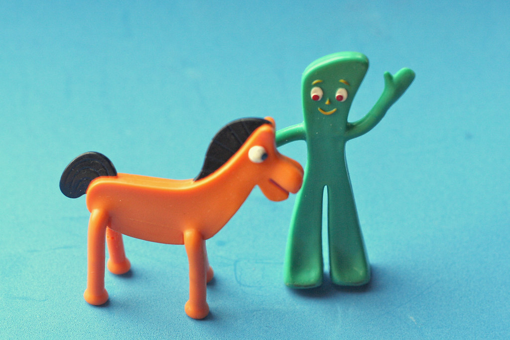 Gumby and Pokey | Art Clokey, creator of Gumby and Pokey ...