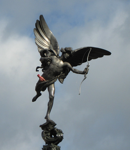 Eros, Picadilly Circus, London | by Tom N.