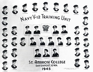 1945 V-12 Naval Class | by St. Ambrose University