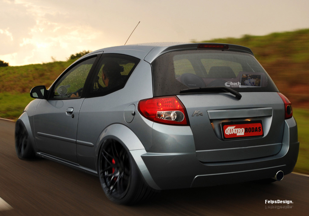 ford ka 2010 virtual tuning felipe vasti flickr. Black Bedroom Furniture Sets. Home Design Ideas