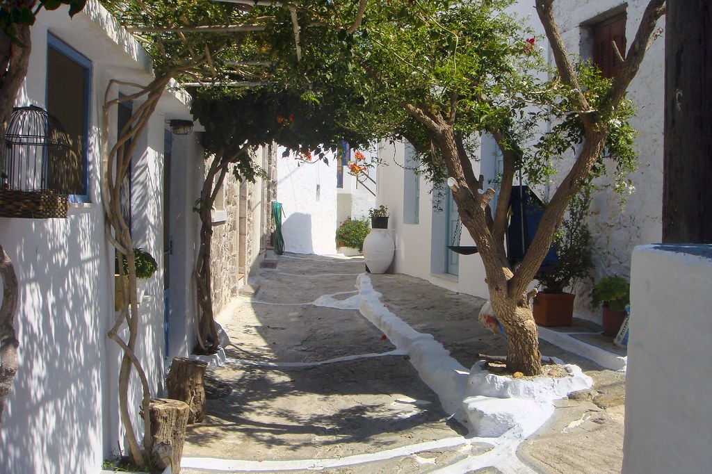 leaf canopy plaka milos cyclades greece plaka is the c flickr. Black Bedroom Furniture Sets. Home Design Ideas