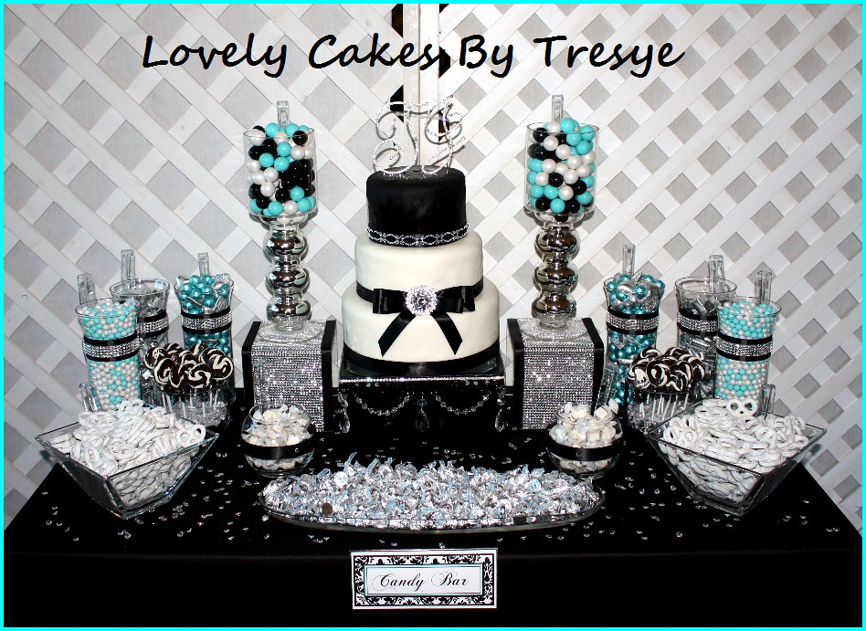 Diamond Candy Buffet Table Lovely Cakes By Tresye Flickr