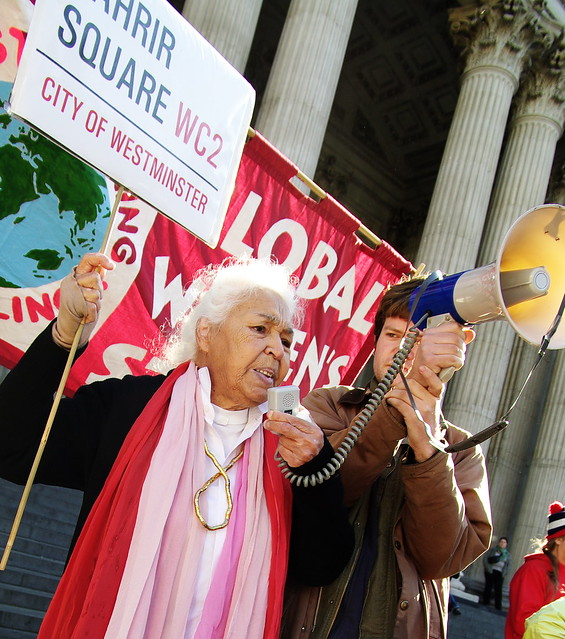 in camera by nawal el saadawi The egyptian writer and activist dr nawal el saadawi says women need to fight  for their rights on a global scale, rather than waiting for.