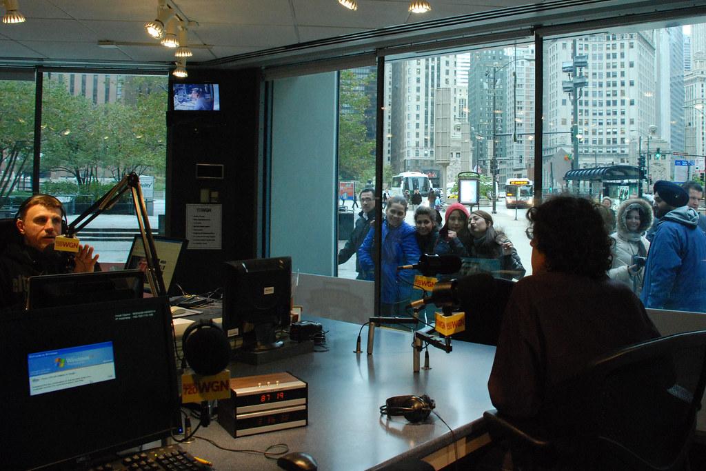 Elton Jim, sidekick to WGN radio host Garry Meier, chats