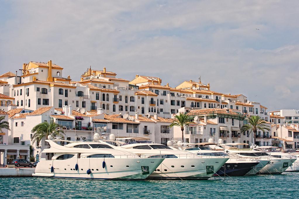 Port puerto ban s marbella spain puerto jos ban s - Puerto banus marbella ...