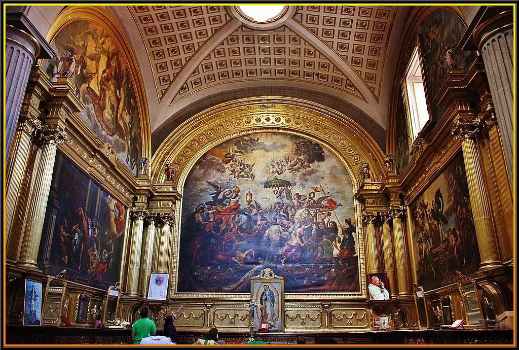 Catedral De PueblaSacristaPuebla De Los NgelesPuebla