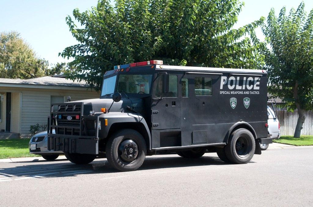 ripon manteca ford swat van driving a ripon swat truck