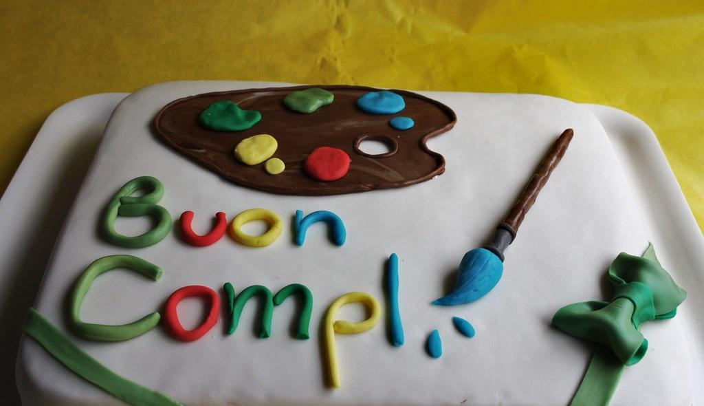 Torta in pdz per una giovane artista fujiko71 flickr for Arte delle torte clementoni